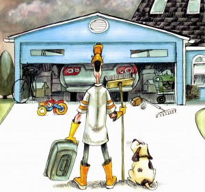 true garage door - cleaning the garage door - garage door repair greenwich ct - 9-7-16 - truegaragedoor.com